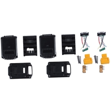 DCB200 Li-Ion Battery Plastic Box Case PCB Charging Protection Circuit Board for Dewalt 18V 20V 3.0Ah 6Ah Tool 2Pcs