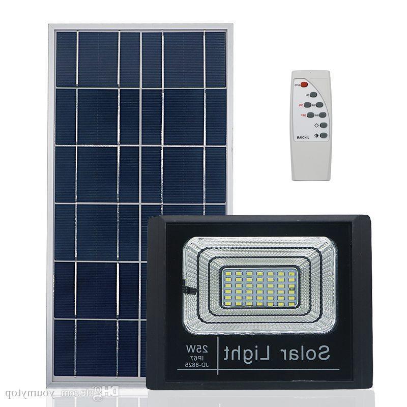 10pcs Solar Wall Light Garden Flood Light Lighting With Remote Control Solar Led Spotlight Floodlight Outdoor Waterproof