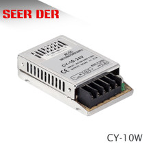 CY-10W slim smps 10w transformer 12v 0.8a / 24V 0.4A/ 5V 2A ac dc regulated ultra-thin switching power supply