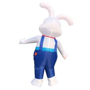 Image 5 - Nadmuchiwany kostium T Rex kostium Disfraces Adultos Halloween kostiumy dla kobiet Anime Pikachu Cosplay disfraz mujer anime tkaniny