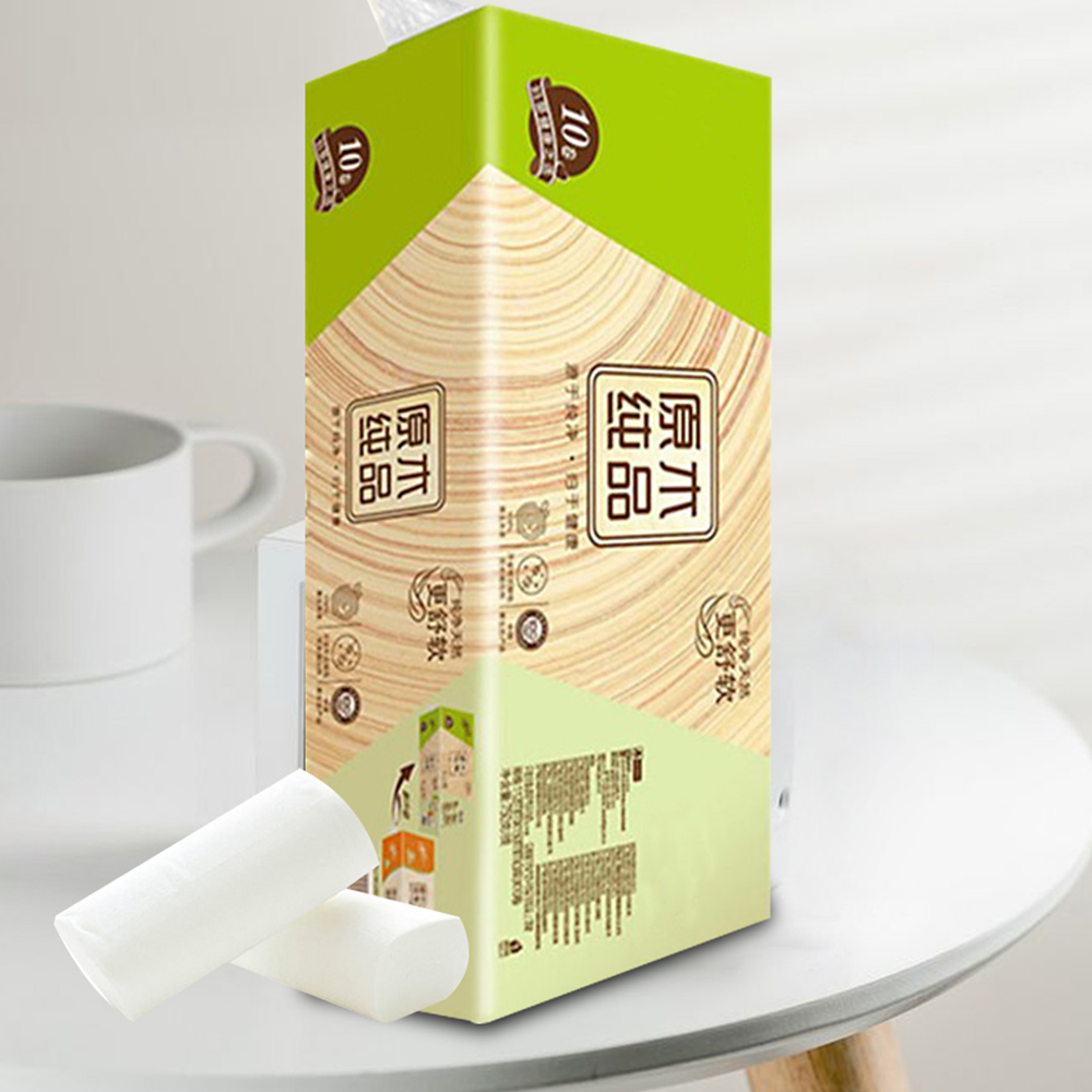 10 Rolls Pack Home Bath Toilet Paper Roll Paper Primary Wood Pulp  White Toilet Paper Toilet Roll Tissue Towels Tissue