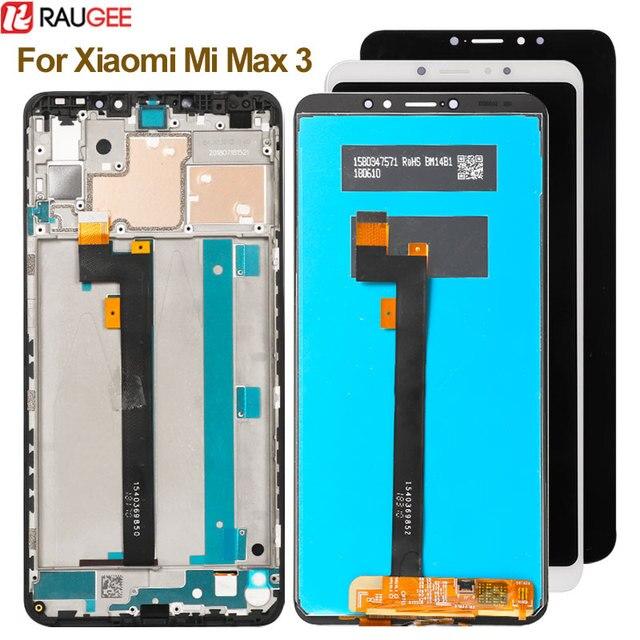 Для Xiaomi Mi Max 3 ЖК дисплей + сенсорный экран новый дигитайзер стеклянная панель Замена ЖК для Xiaomi Mi Max 3 2160X1080 6,9 дюймов