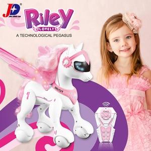 Image 3 - JXDA009 RC Unicorn Riley Smart Horse Robot Remote Control Animals unicornio Merry Christmas Educational licorne Kids Toys