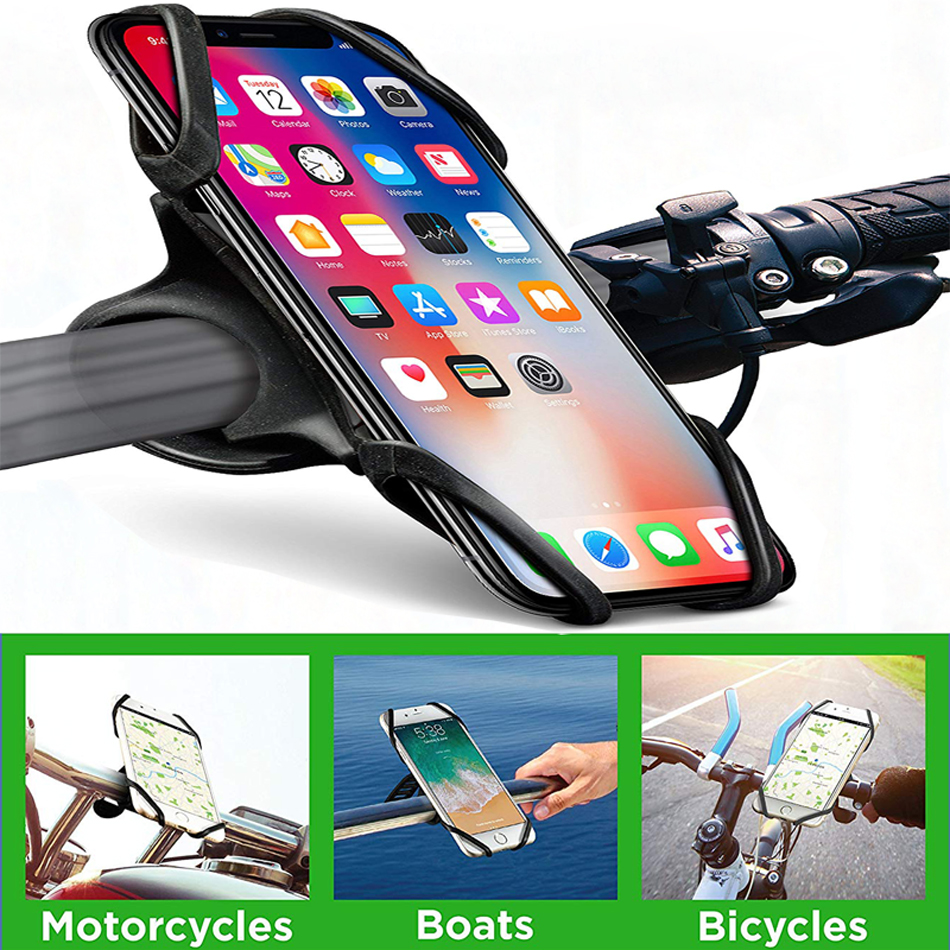 Bicycle <font><b>Phone</b></font> <font><b>Holder</b></font> for iPhone 11 Pro Max X XS XR 8 7 6s <font><b>Samsung</b></font> <font><b>S9</b></font> Mobile <font><b>Phone</b></font> <font><b>Holder</b></font> Stand <font><b>Bike</b></font> Handlebar Mount GPS Bracket image