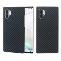 for Samsung Galaxy Note 10 Plus Case Carbon Fiber Pattern Ultra Thin Aramid Fiber Cases Cover for Samsung Note 9 10 10+ 10Plus