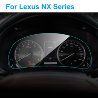 For Lexus NX200 NX200t NX300h NX Series Interior Car Instrument Panel Screen Protector TPU Film Protective Film Car Accessories