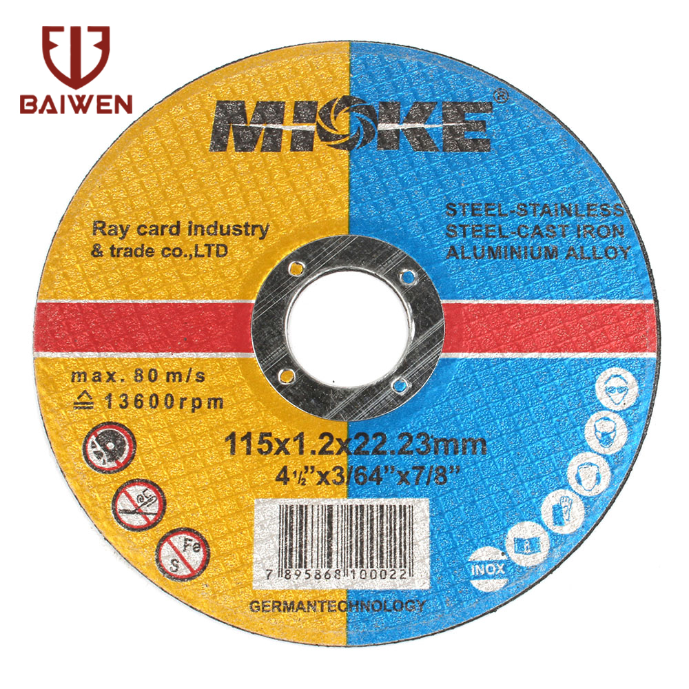 4.5inh Grinding Wheel115*1.2*22.2 Stainless Steel  Cut Off Wheels Sanding Grinding Disc Angle Grinder Wheel