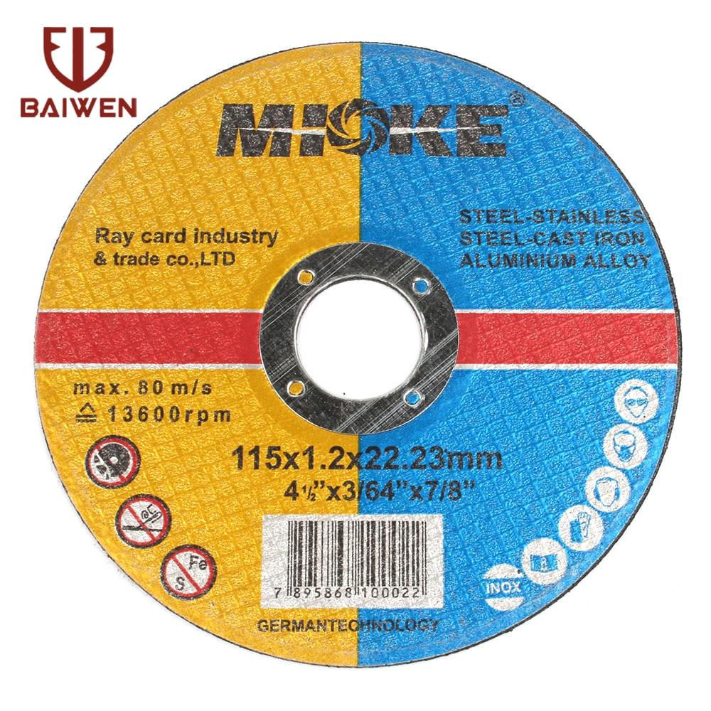 4.5inh Grinding Wheel115*1.2*22.2 Stainless Steel  Cut Off Wheels Sanding Grinding Disc Angle Grinder Wheel