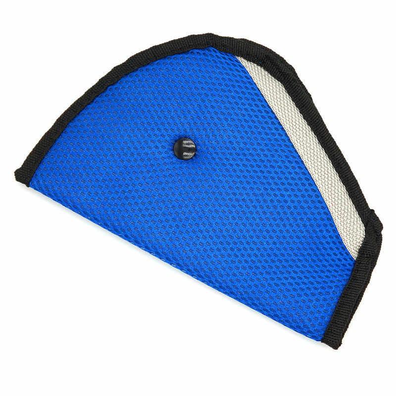 เด็ก Breathable ผ้าตาข่ายรถเข็มขัดนิรภัยที่นั่งปรับเข็มขัดนิรภัยรถยนต์ปรับอุปกรณ์สำหรับทารกเด็ก protector positioner bre
