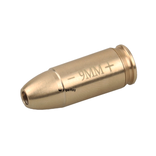Vector Optics RED LASER BORE SIGHT  Brass Boresight CAL Cartridge Bore Sighter For Scope Hunting Adjustment .223 7.62 9MM .308 2