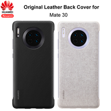 Original HUAWEI Mate 30 Case PU Leather Back Cover Case Protective Shell for HUAWEI Mate30