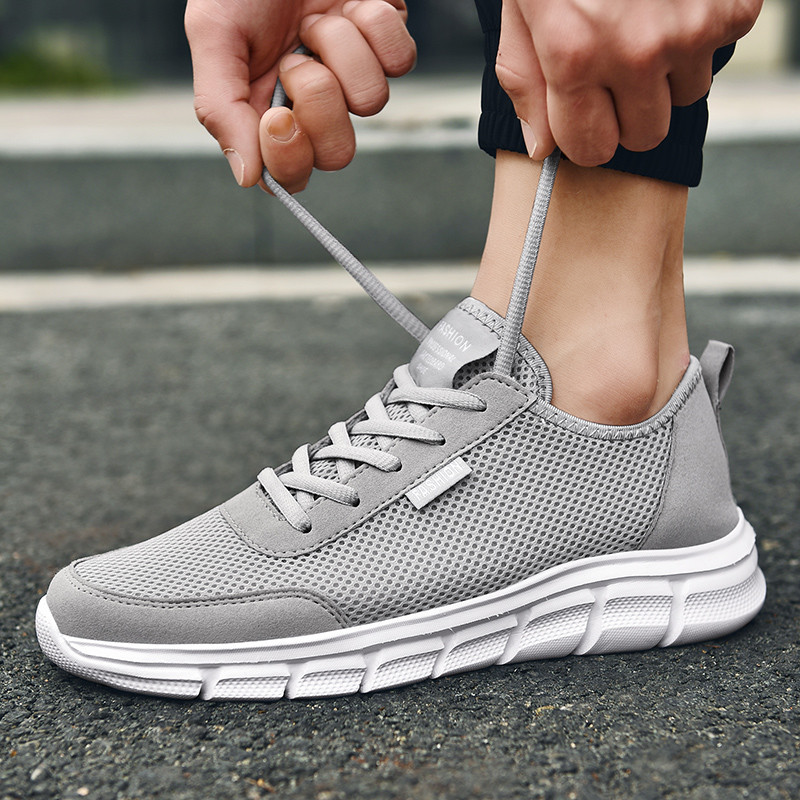 Men Casual Shoes Breathable Outdoor Mesh Light Sneakers Male Fashion Casual Shoes 2020 New Comfortable Casual Footwear Men Shoes 5