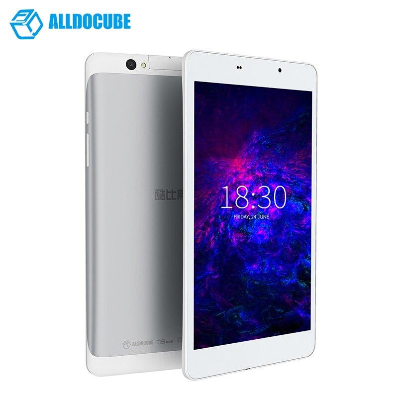 ALLDOCUBE T8 Final Tablet PC 8 Polegada 1920x1200 Android 5.1 Comprimidos MTK8783 16 2GB de RAM Núcleo octa GB ROM Dual 4G Crianças Tablets