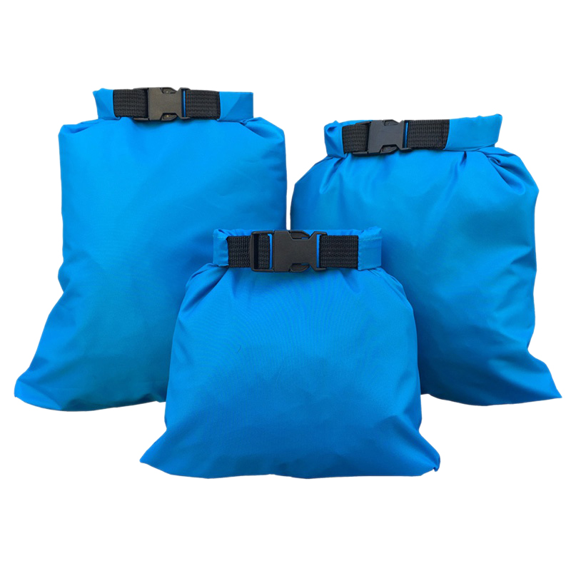 3Pcs Waterproof Drifting Storage Bag Multi-Function Upstream Waterproof Bag Kayak Drying Bag 1.5/2.5/3.5L