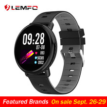 LEMFO K1 2.5D Full HD 3D UI Touch Screen Smart Watch IP68 Waterproof Heart Rate Monitor Replaceable Strap Smartwatch For Android(China)