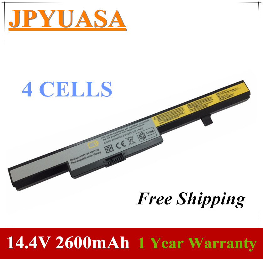 JPYUASA Battery Lenovo L13M4A01 L12M4E55 For Ideapad B40/B50/N40/..