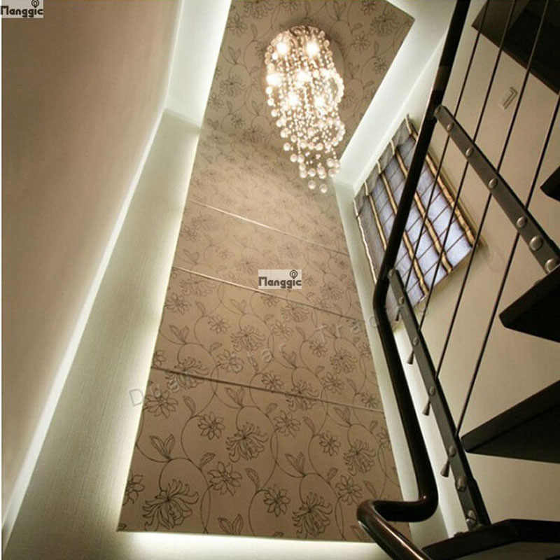 Double Helix LED Modern K9 Lampu Kristal Lampu Tangga Lampu Lampu Gantung Lampu untuk Ruang Tamu AC110-240V