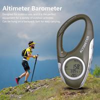 캠핑 야외 고도계 등반을위한 다기능 디지털 lcd 나침반 고도계 온도계 날씨 모니터