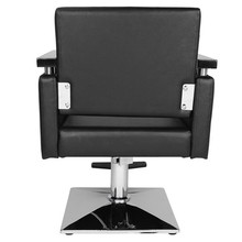 Hair Beauty Equipment Hydraulic Barber Chair Modern Black Styling Salon Haircut