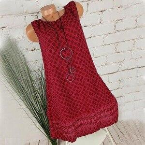 Женское повседневное пляжное платье в горошек 2020 размера плюс, винтажное летнее платье с цветочным рисунком, женское платье черного и синег...