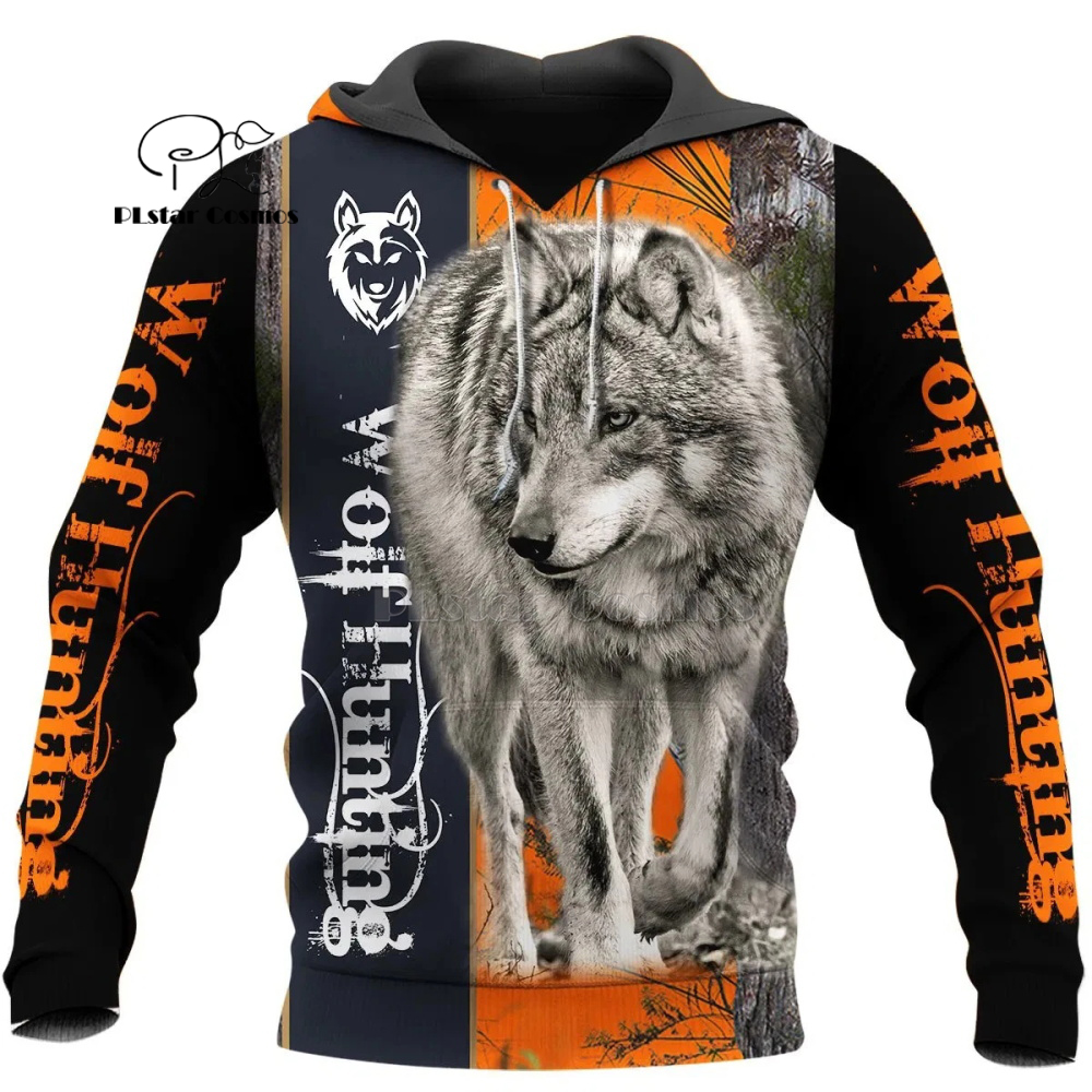Wolf Printed Hoodies Men 3d Hoodies Brand Sweatshirts Jackets Quality Pullover Fashion Tracksuits Animal Streetwear Out Coat-9