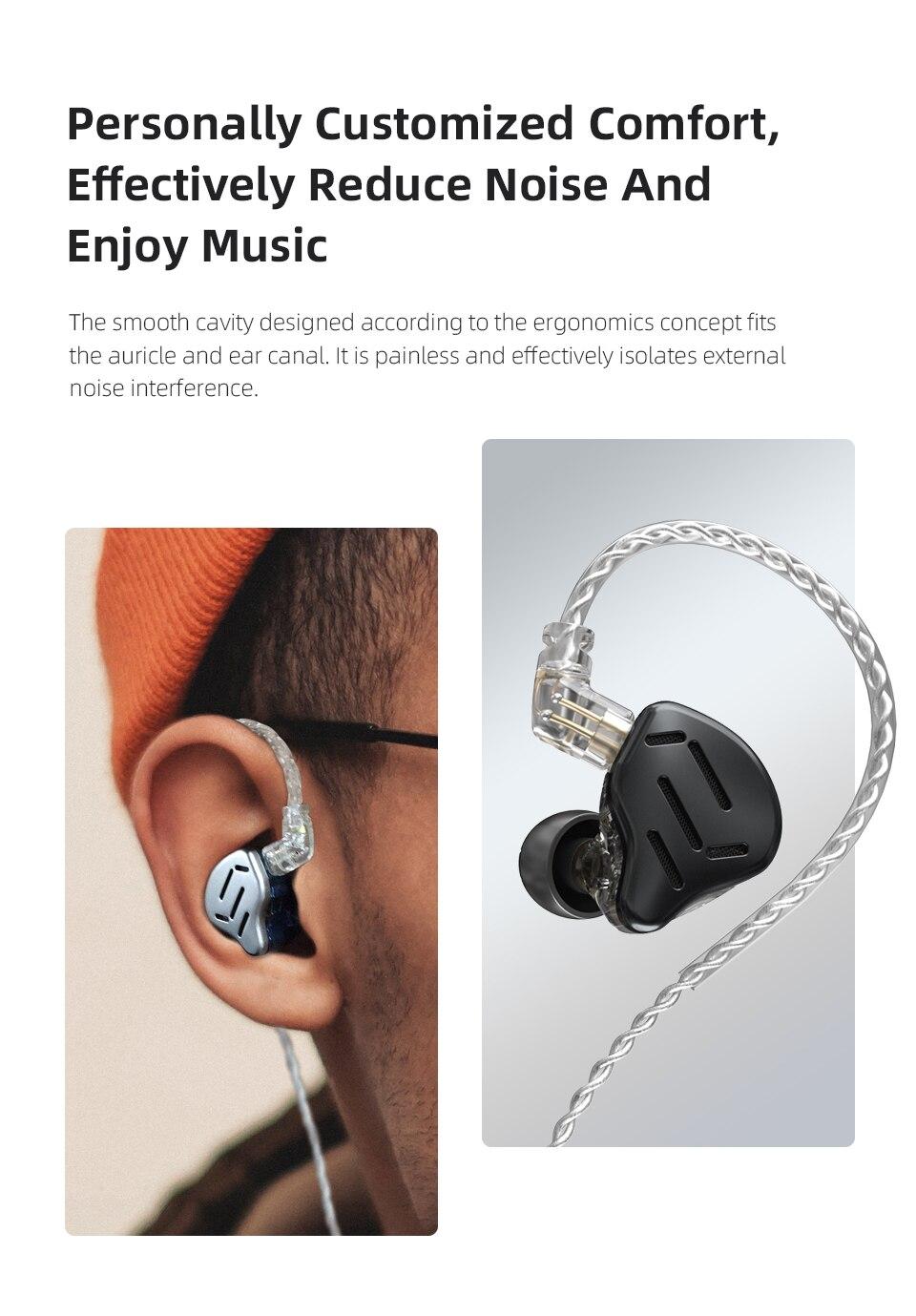 Kz zax fone de ouvido 16 unidades