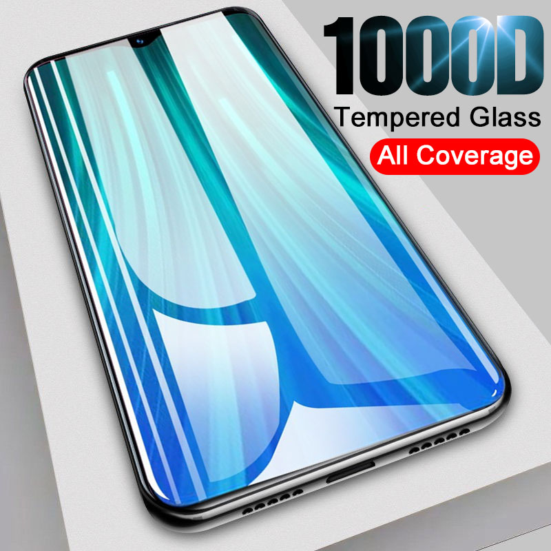Full Cover 1000D Tempered Glass On For Xiaomi Redmi Note 8 7 6 5 Pro 8T Screen Protector For Redmi 7 7A 8T 8 8A Protective Film