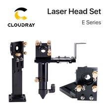 Cloudray جديد CO2 E سلسلة الليزر سماعات رأس مع عدسة D20mm FL50.8 و 63.5 و 101.6 مرآة 25 مللي متر لآلة القطع النقش بالليزر