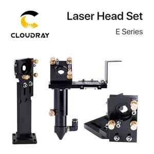 Image 1 - Новая лазерная головка Cloudray серии CO2 E с объективом D20mm FL50.8 & 63,5 & 101,6, зеркало 25 мм для лазерного гравировального станка