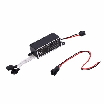 Top quality 12V CCFL inverter for CCFL angel eyes light lamp bulb halo ring spare ballast fit for BMW E36 E46 and all cars image
