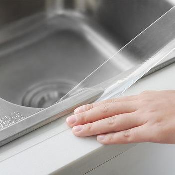 Zlewozmywak wodoodporna przezroczysta taśma Nano bezszwowa mocna anty-mold samoprzylepna łazienka Gap silikonowa naklejka agd tanie i dobre opinie CN (pochodzenie) Elektryczne NONE