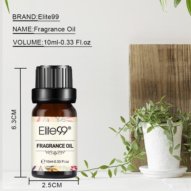 Elite99 Sandelholz Duft Öl 10ml Blume Obst Frische Bettwäsche Reines Ätherisches Öl Für Aroma Aromatherapie Diffusor Luft Auffrischung