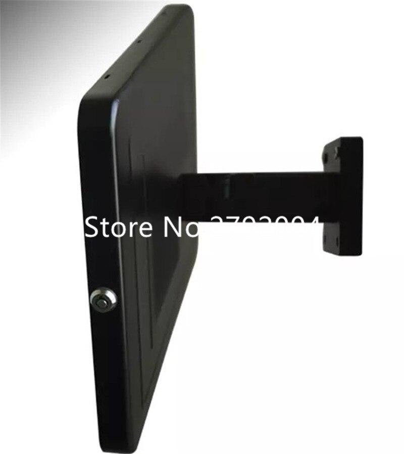 rotativa seguro recinto da parede de aluminio de montagem para 12 9 ipad pro