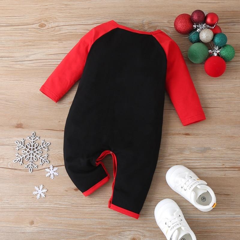 Милая одежда для малышей Рождественская Одежда девочек хлопковый