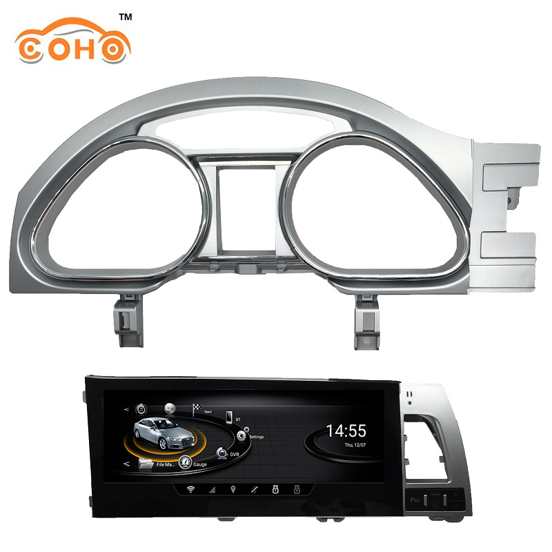 Android 8-core 4+64g Dvd Automotivo Car Multimedia 1din Radio Android For 2005-2015 Audi Q7 A6L