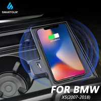 Precio https://ae01.alicdn.com/kf/H98096f9a4657452b99bd43b50283d287t/Cargador inalámbrico Qi de 10W para Bmw X5 2007 2019 cargador rápido para coche cargador inalámbrico.jpg