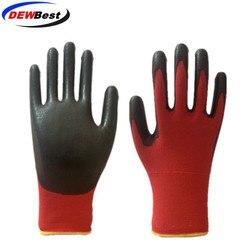 DEWBest guantes trabajo gants de travail de sécurité gant de travail en polyuréthane 24/12 paires gants d'assemblage automobile