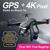 4K e 1080P Mini RC Drone Quadcopter GPS 5G WiFi FPV RTF 120 grandangolo UAV fotografia aerea telecomando giocattolo aereo