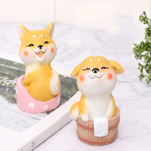 Cute Cartoon Cake Topper Animal Miniature Figurine Cake Topper Decorations Home Garden Decoration Crafts Home Desktop Decoration 1