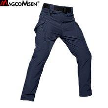 MAGCOMSEN-pantalon tactique Softshell pour hommes, molleton chaud d'hiver, pantalon de Combat Style militaire camouflage, pantalon de chasse Airsoft, de travail Cargo