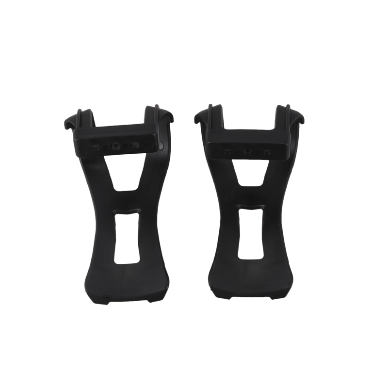 1 Pair Cycling Road Bike Mountain Bike Bicycle Toe Clips Straps For Pedals Black in Bicycle Pedal from Sports Entertainment