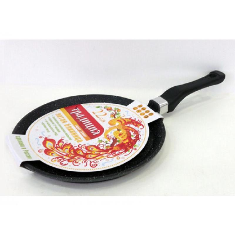 Frying Pan Griddle Tradition, Granite, 22 Cm