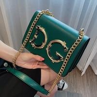 2020 Famous Brand Ladies Luxury Leather Handbags Purse Chain Shoulder Bags Luxury Designer Women Crossbody Bag Bolsa DG Sac Luxe