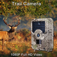 12MP Hunting Trail Camera 1080P HD Video Scouting Infrared Night Vision Wild Cameras IP66 Waterproof Outdoor Wildlife Camera