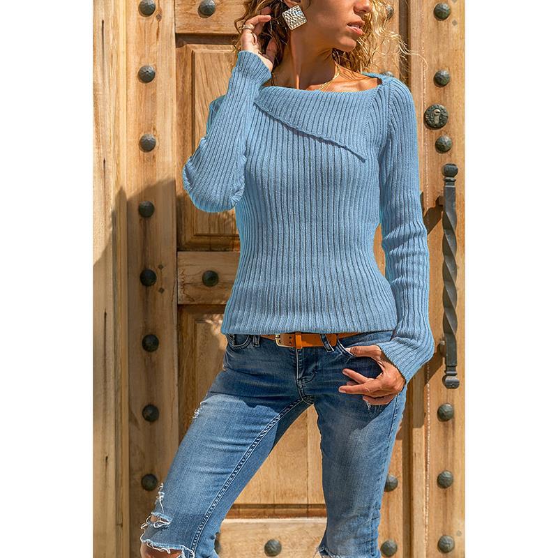 Women Autumn Sweater Women Knitted Sweater Long Sleeve Jumper