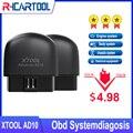 Новый сканер XTOOL AD10 OBD2, автомобильный диагностический инструмент OBD 2, считыватель кодов двигателя PK AP200 CR3001 CR319 AD310 ELM327 Thinkdiag