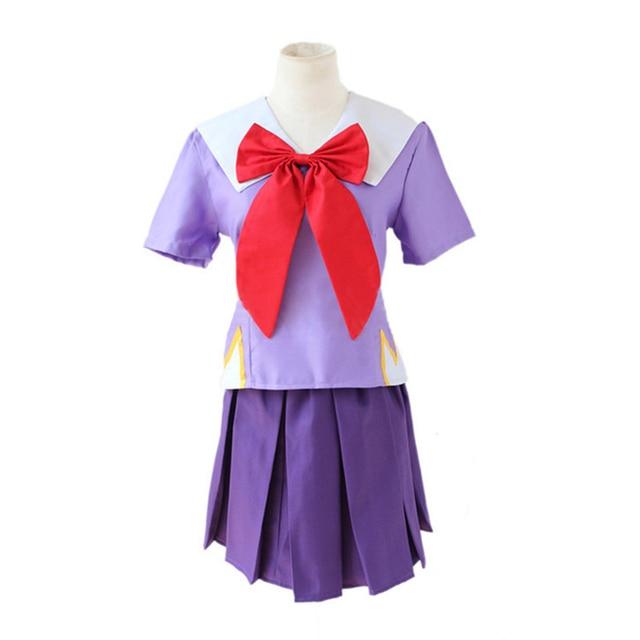 חדש נשים ליל כל הקדושים אנימה יומן עתיד 2nd Mirai Nikki Yuno Gasai תלבושות קוספליי