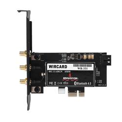 Wircard CM94331Csax 802.11N Wifi + Bluetooth 4.0 Pc Desktop Wlan-kaart Pci-E 1X-16X Adapter Voor Broadcom Mac Os & 6DB dual Band Ant