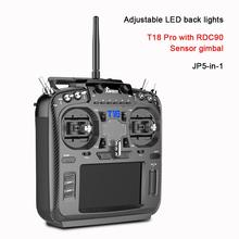 Jumper T18 Pro Radio Remote Controller JP5 in 1 RDC90 Sensor Multi Protocol RF Module OpenTX  (T18 With Hall Gimbals)