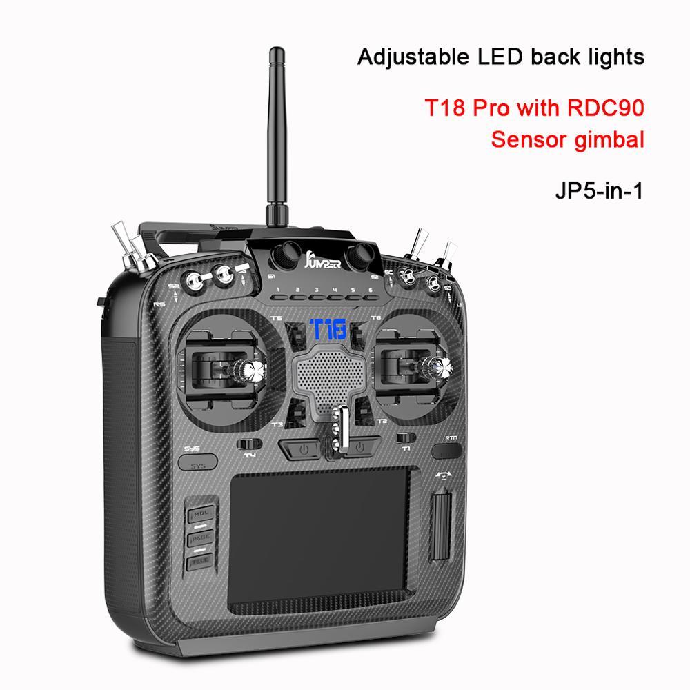 Джемпер T18 Pro Радио пульт дистанционного управления JP5 in 1 RDC90 Сенсор мульти протокол радиочастотный модуль OpenTX (T18 с Зал разных цветов с шарнирным соединением для смартфона)Детали и аксессуары    АлиЭкспресс